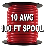 Primary Wire, 10 AWG, 100ft Spool
