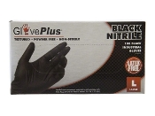 GPNB41100 ~ GlovePlus Black Nitrile PF Gloves, Small (100)